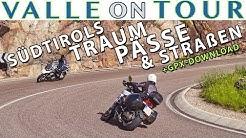 Südtirol Motorrad Tour - die schönsten Pässe und Straßen der Dolomiten