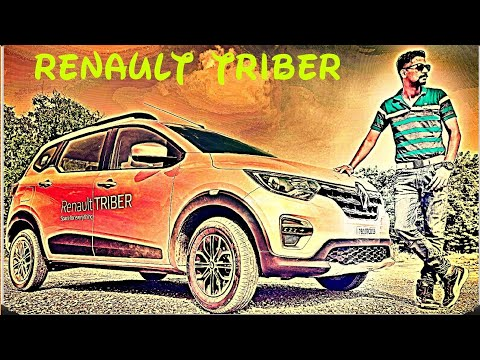 Renault Triber RXZ top model full review video..features, interior, exterior, test drive..7 seater..