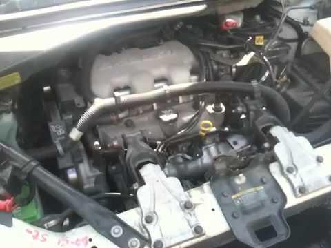 3100 V6 Engine Wiring Diagram Pontiac Montana Engine Noise Youtube