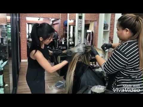 Hair Extensions Bangkok-Senpom Salon by Pekky ทำสีผม