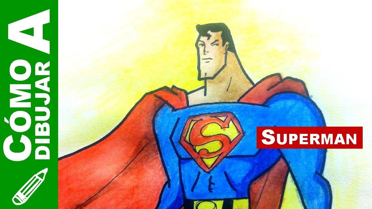008. Cómo Dibujar A Superman