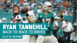 Ryan Tannehill Ices the Game with Back-to-Back TD Drives! | Bills vs. Dolphins | NFL