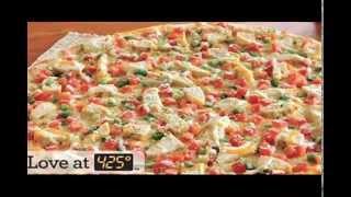 Gourmet Chicken Garlic Thin Crust Delite Pizza