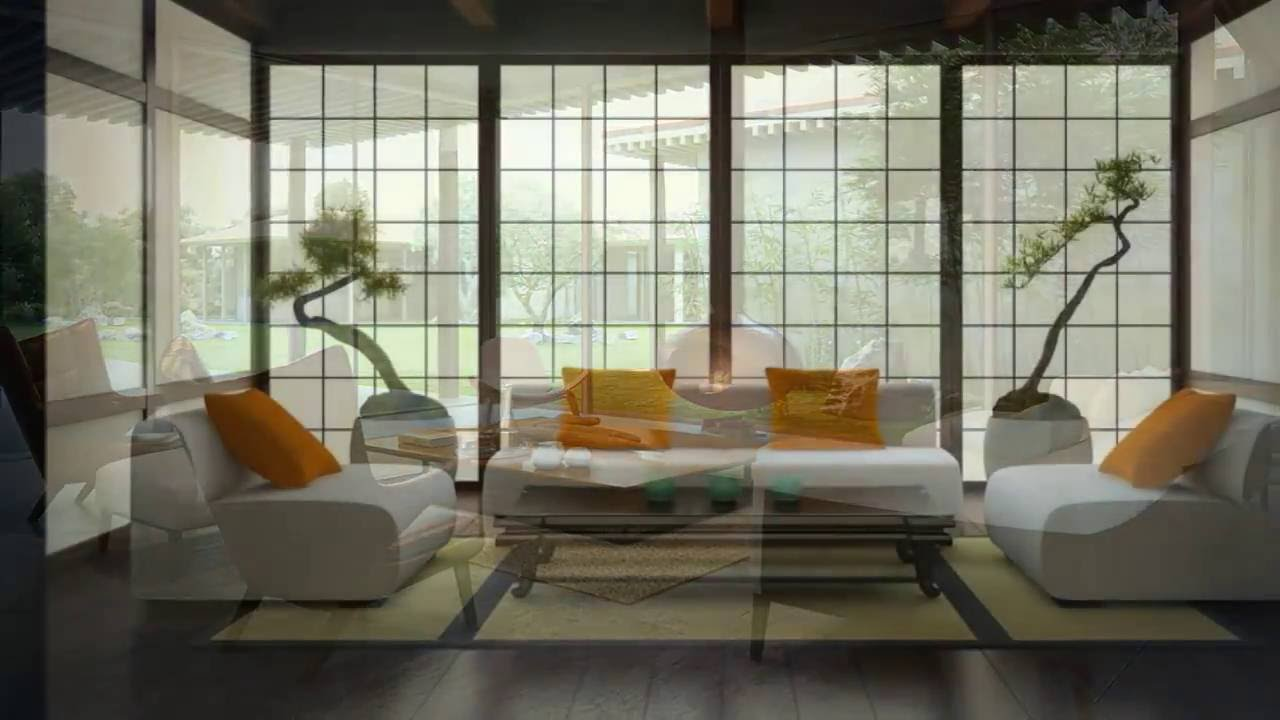 Modern Japan Interior Design - Home Art Design Decorations - YouTube