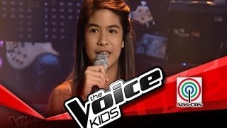 "The Voice Kids Philippines Blind Audition ""Stuck Like Glue"" by Maite"