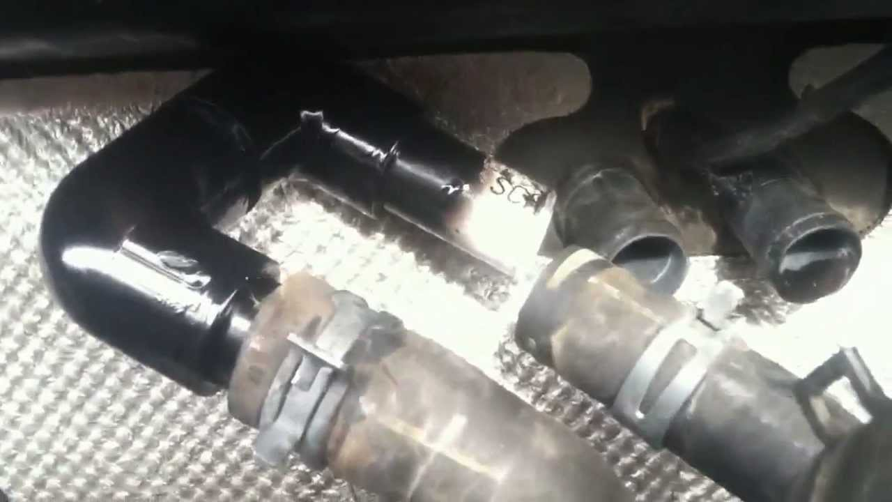 Bypass Heater Core  YouTube