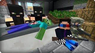 Главное сидеть тихо! [ЧАСТЬ 11] Зомби апокалипсис в майнкрафт! - (Minecraft - Сериал)