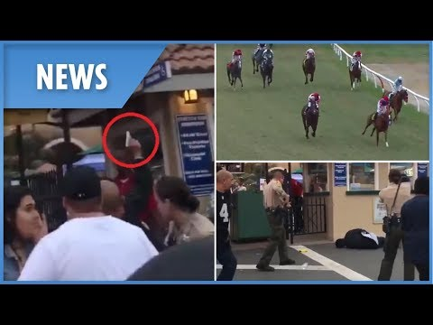 Del Mar Race Course Shooting - Jockey Flung From Horse During Chaos