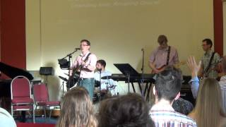 Brookeborough Elim Church 7th July 2013 - MTC lead worship singing Amazing Grace