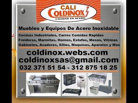 Coldinox freidora continua acero inoxidable cali for Hornos industriales bogota