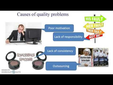 AQA GCSE Business Studies Unit 2: 22 Quality