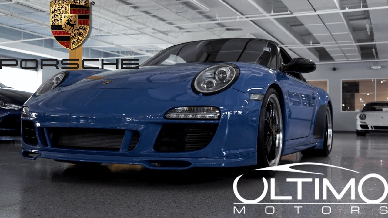 Ultimo Motors- Porsche 911 Speedster