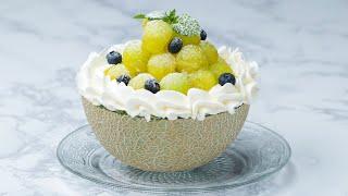 まるごとメロンケーキ〜究極の甘さ!〜 / Whole Melon Cake