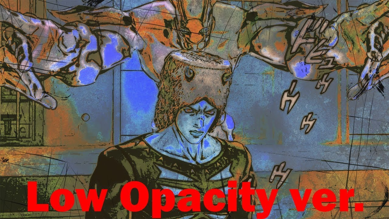 JoJo X Virtual Insanity - Animation Comparison (Low Opacity)
