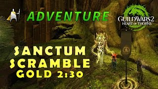 Sanctum Scramble 2:30 - Gold - Adventure - Guild Wars 2: Heart of thorns