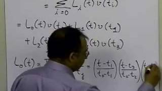 Lagrangian Interpolation: Cubic Interpolation: Example: Part 1 of 2