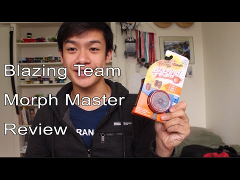 Blazing Team: Morph Master Review/Unboxing