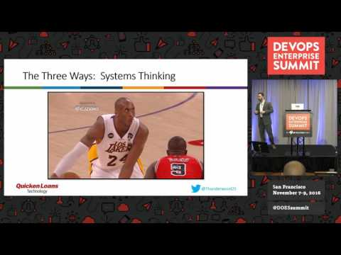 DOES16 San Francisco - DevOps Champions: Leading the Transformation at Quicken Loans