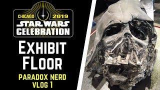 Star Wars Celebration 2019 Exhibit Floor Walkthrough - Paradox Nerd Vlog Ep1