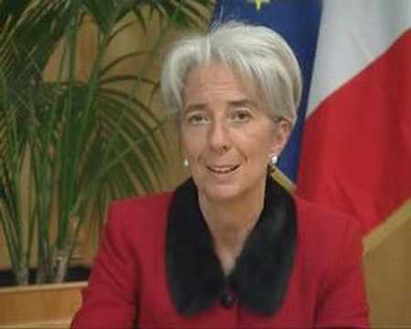 Message de Mme LAGARDE pour le Prix Turgot 2008
