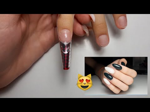 Наращивание ногтей\Наращивание на формах\Наращивание гелем\Nail Extension\Gel Extension\