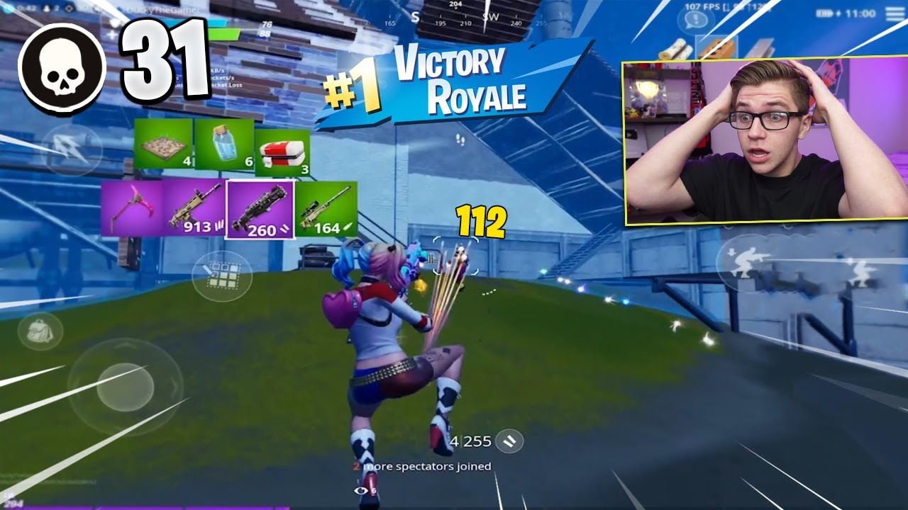 Best Way To Win Fortnite Kill Races In Squads My Highest Kill Game On Fortnite Mobile 31 Kill Solo Squad Youtube