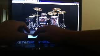 J Balvin, Bad Bunny - YO LE LLEGO *DRUM COVER* (Virtual Drumming)