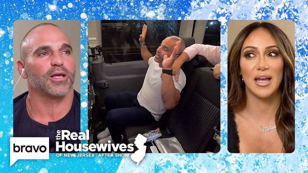 Melissa Gorga and Joe Gorga Break Down Their Intense Fight   RHONJ After Show (S11 E8)