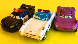Тачки Мультики про машинки Маквин Полицейская машина Все серии подряд #5