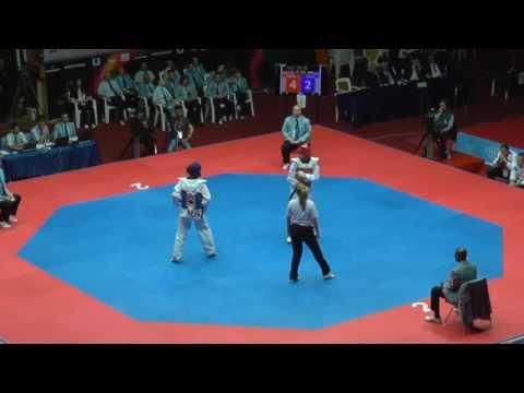Bianca Walkden vs Olga Ivanova European Championships final 2014