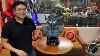GUYVER DARK HERO LIFE SIZE BUST 1:1 SCALE by  Elite Creature Collectibles