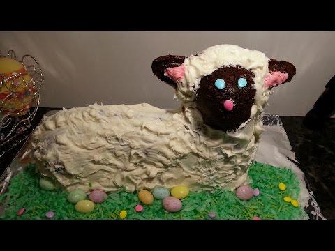Lamb Cake for Easter