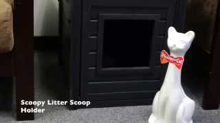 Scoopy The Cat Litter Scoop Holder