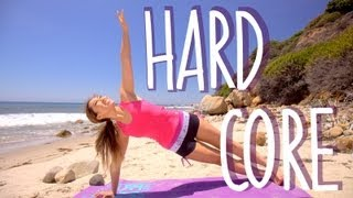 Hard Core Workout | POP Pilates Beach Series