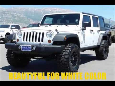 2016 Jeep Wrangler Hard Top 4 Door White Color Edition