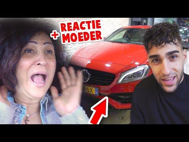 MIJN NIEUWE AUTO KOPEN! (+ REACTIE van MOEDER!)