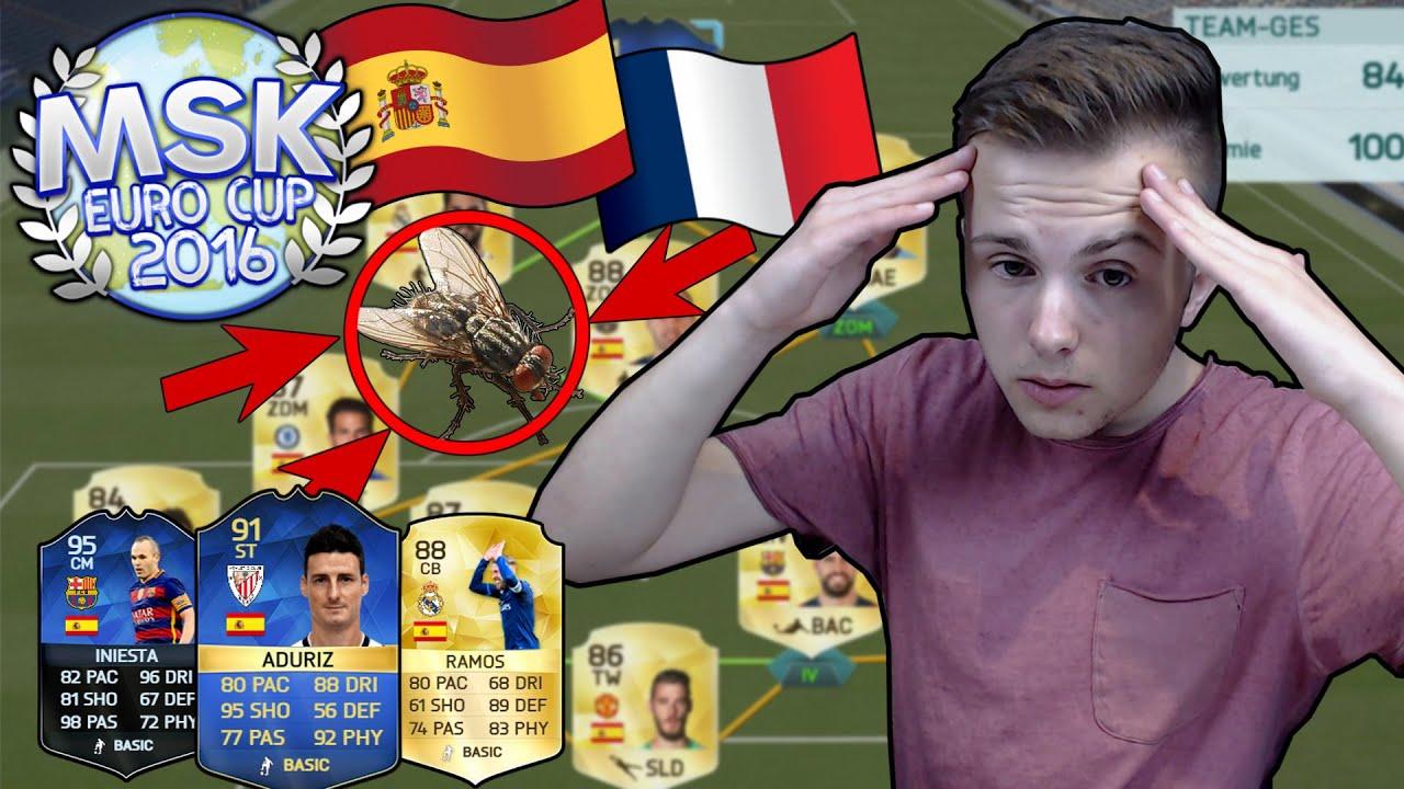 Spanien Vs Frankreich