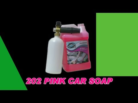 4 to 6 ounces of Pink Car Soap cleans 2 to 3 cars!