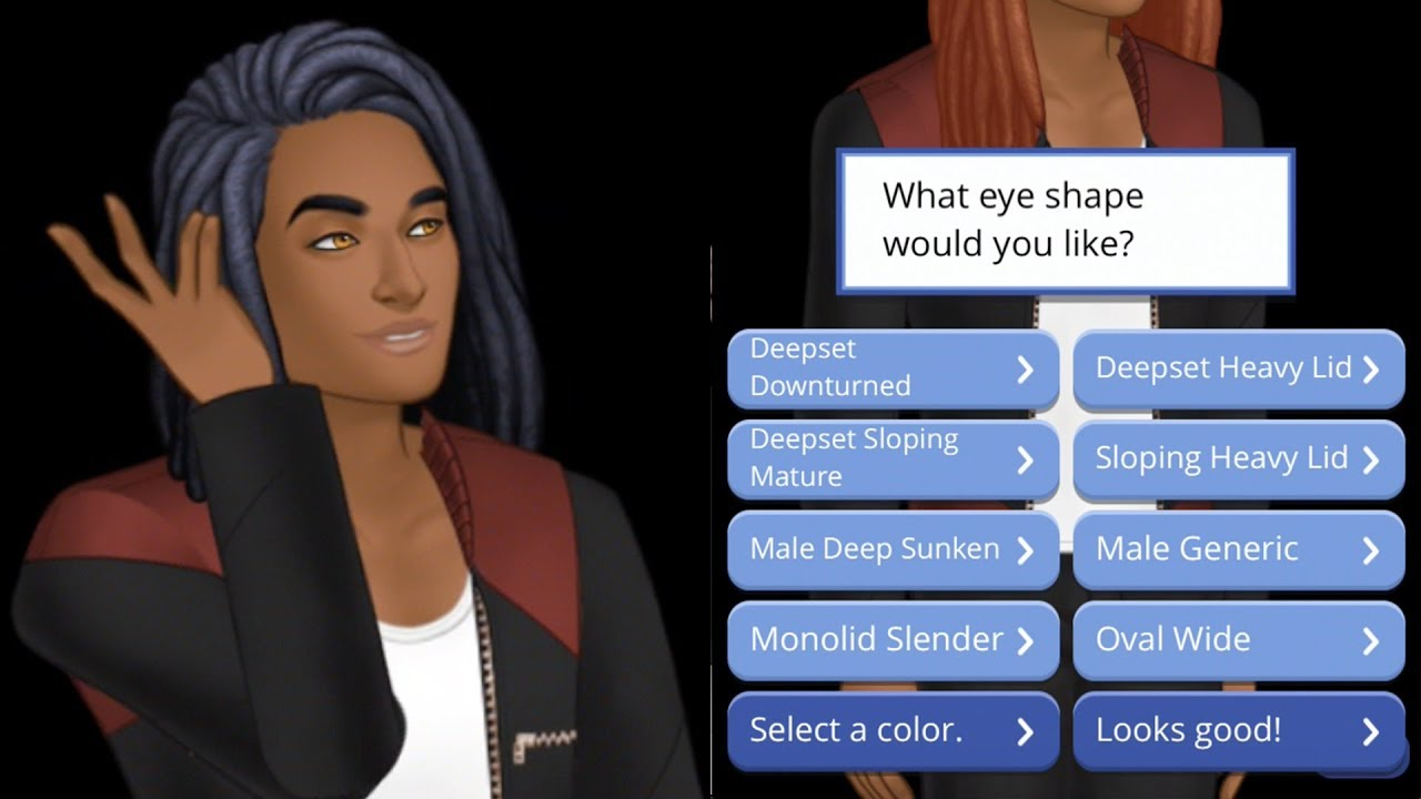customize character template episode limelight male youtube
