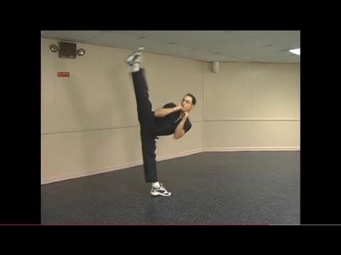 Dynamic Kicking of Martial Arts Instructional Martial Arts Kicking DVD Basic Kick Preview