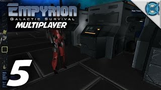 "Empyrion Galactic Survival Multiplayer Gameplay / Let's Play (S-2) -Ep. 5- ""Many Crafting Stations"""