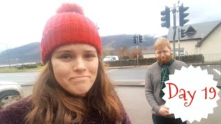 Editing In The Mountains, Going Home & Brief Crieff | VLOGMAS Day 19