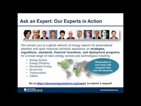 Greening the Grid Webinar: Power Purchase Agreements for Grid-Aware Renewable Energy Procurement