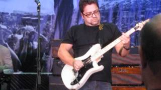 Brent Mason~NAMM2012~PRS~Room~Working~Man~Blues.AVI