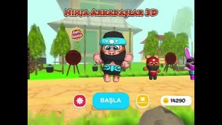Ninja Arkadaşlar 3D