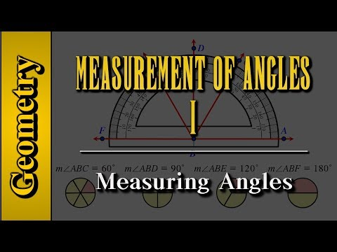 Geometry: Measurement of Angles (Level 1 of 9) | Measuring Angles