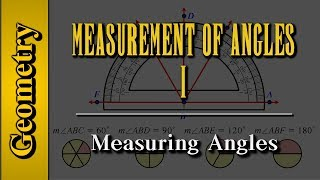 Geometry: Measurement of Angles (Level 1 of 9)   Measuring Angles