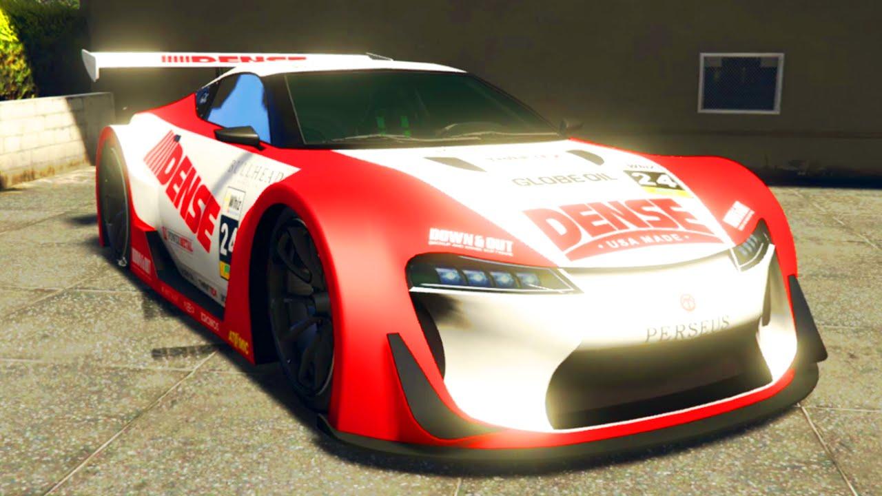 "GTA 5 Online NEW ""EMPEROR ETR1"" DLC CAR & CUSTOMIZATION"