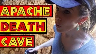 Abandoned Route 66 Gas Station, Campground...and APACHE DEATH CAVE!