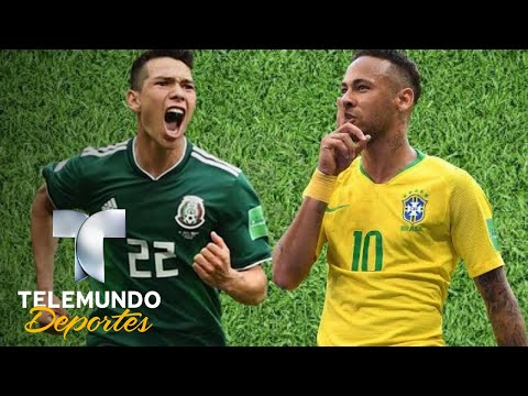 México tendría su revancha ante Brasil y Neymar | Selección Mexicana | Telemundo Deportes